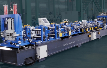 Lipped Channel Purlin Roll Forming Machine